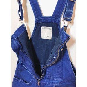 Zara overalls with zipper front